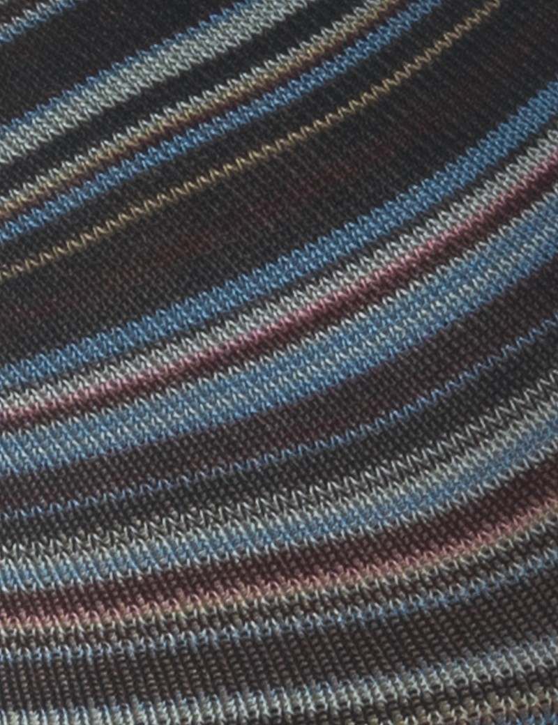 Herren Strümpfe – Socken – beige blau Ringel