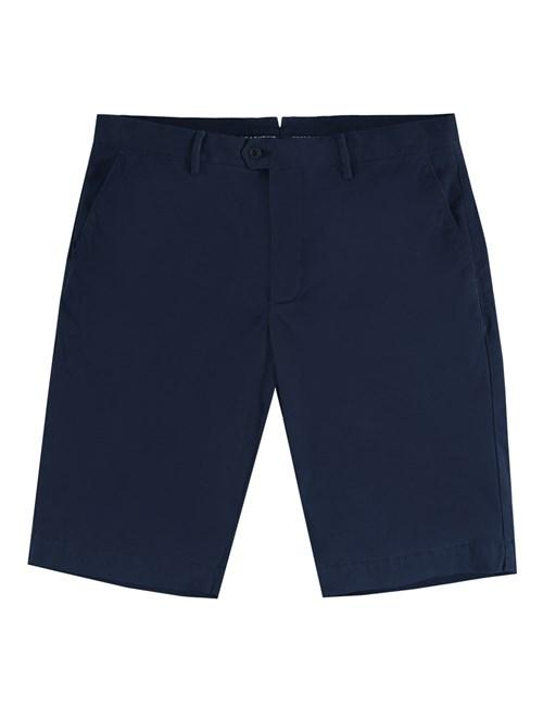 Men's Navy Garment Dye Chino Shorts