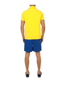 Men's Blue Garment Dye Swim Shorts