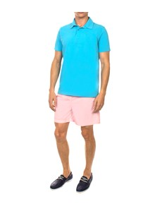 Men's Pink Garment Dye Swim Shorts