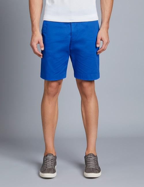 Men's Cobalt Blue Chino Shorts