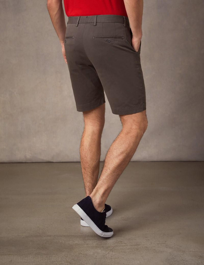 Men's Brown Chino Shorts