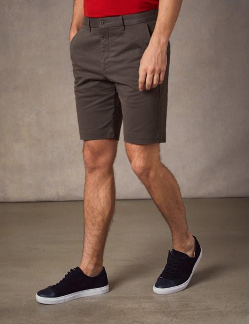 Men's Brown Chino Shorts