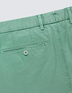 Men's Light Green Chino Shorts