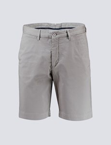 Men's Grey Chino Shorts