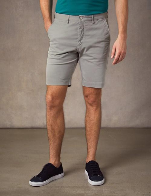 Men's Grey Chino Shorts