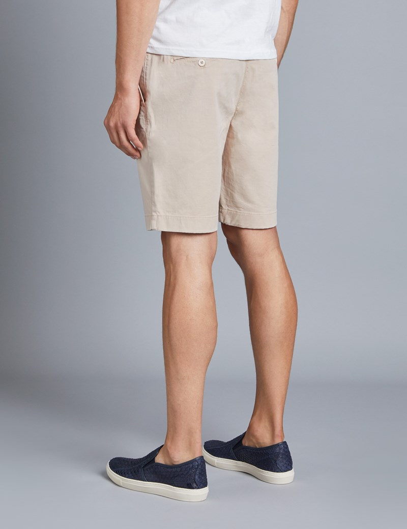 Men's Beige Chino Shorts