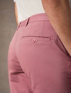 Men's Dark Rose Chino Shorts
