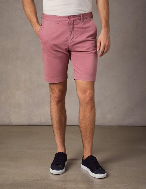 Men's Dark Rose Chino Shorts