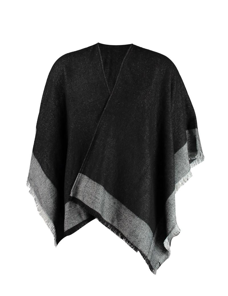 Women's Black Shawl