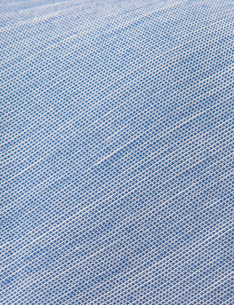 Men's Blue Silk Blend Tie
