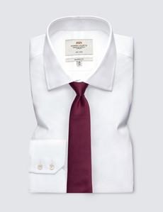 Men's Burgundy West Ham Tie - 100% Silk