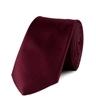Krawatte – Seide – Schmal – Bordeaux