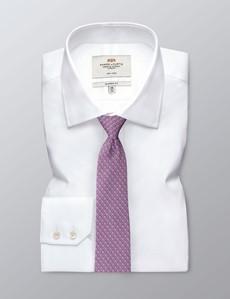Krawatte – Seide – rosa Hufeisen