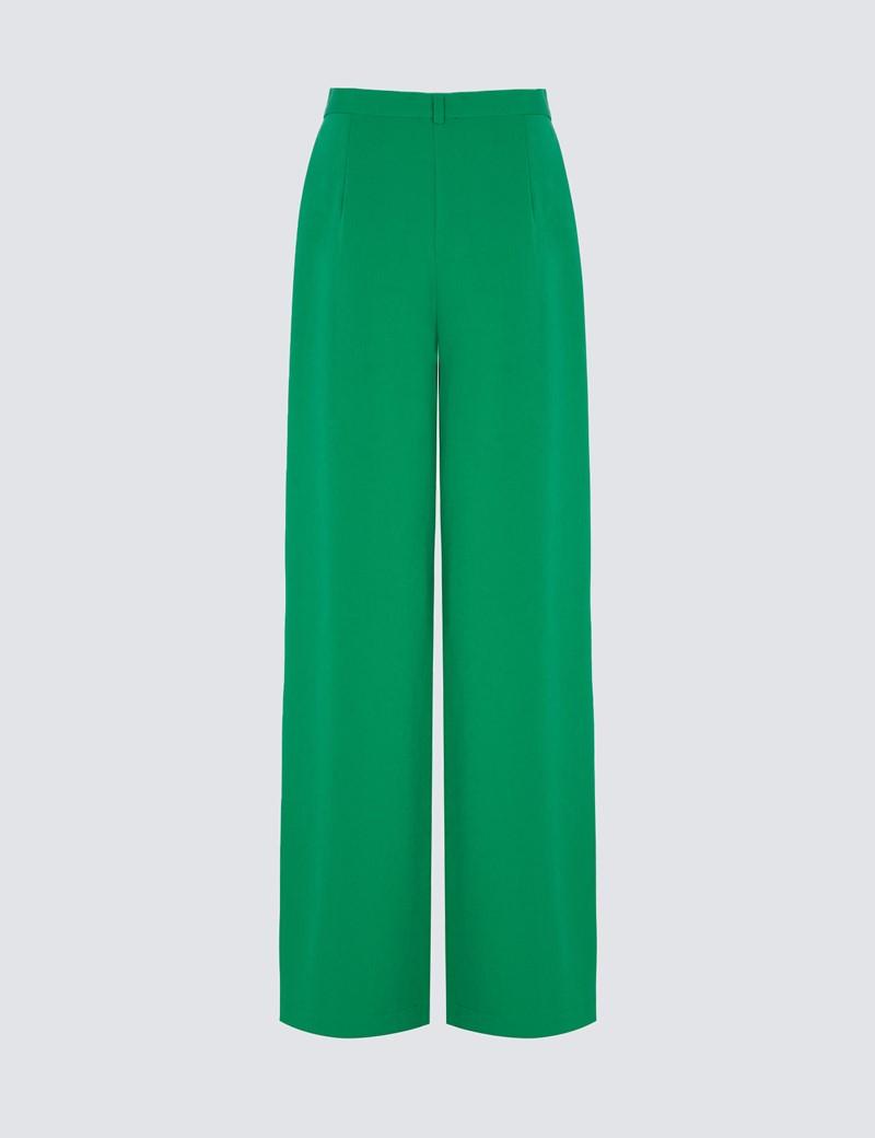 Women's Green Kaden Trousers