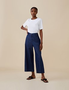 Finery Women's Alice Denim Trousers - Hawes & Curtis