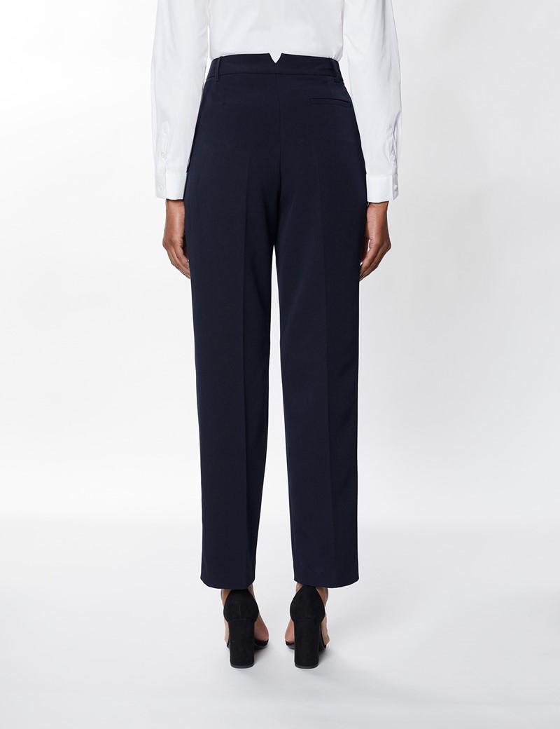 Women's Navy Suit Trousers