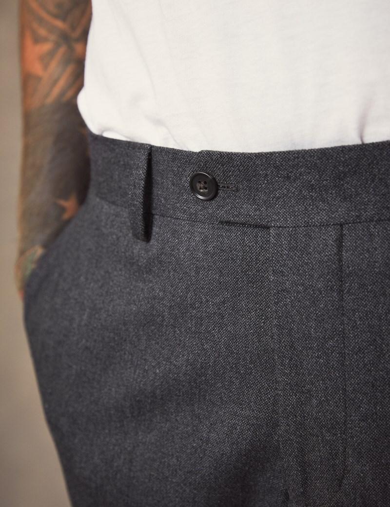 Men's Charcoal Soft Cotton Pants