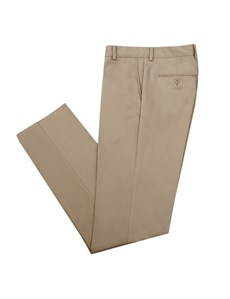 Men's Beige Slim Fit Chinos - 1913 Collection