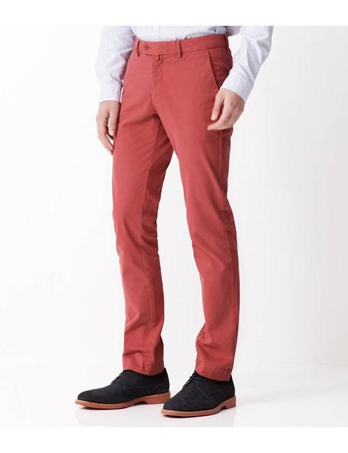 Men's Rose Garment Dye Extra Slim Fit Chinos