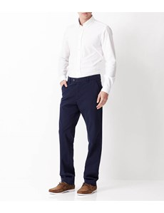 Men's Navy Garment Dye Classic Fit Chinos