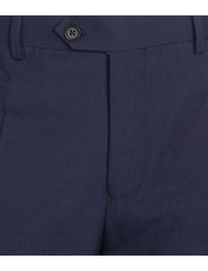 Men's Navy Fine Stripe Slim Fit Suit Trouser