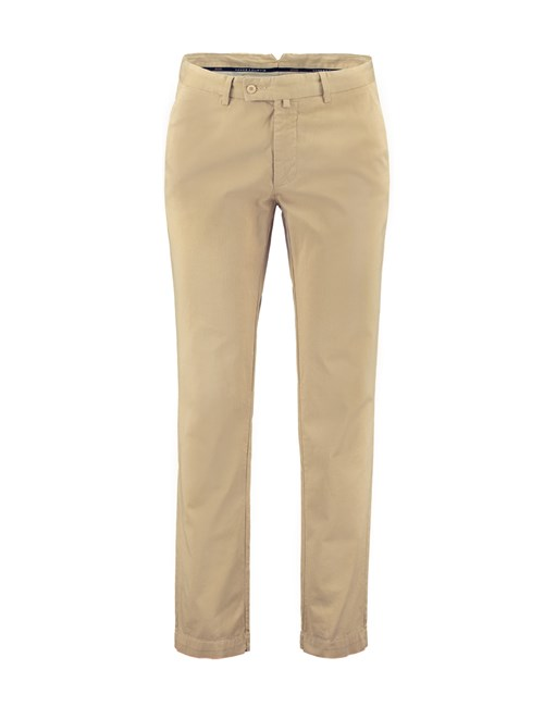 Herren Chino – Slim Fit – Garment Dye – Beige