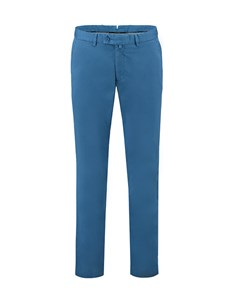 Men's Teal Slim Fit Garment Dye Chinos