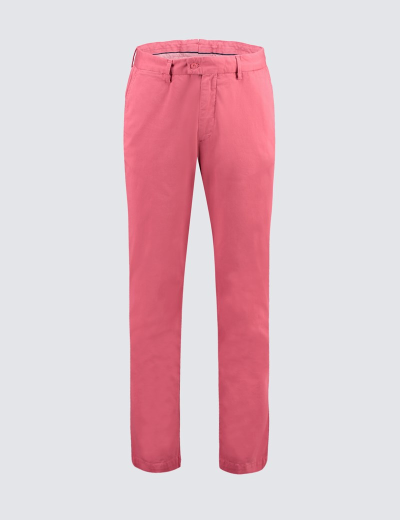 Men's Rose Garment Dye Classic Fit Chinos