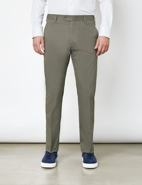 Herren Chino – Slim Fit – Khaki