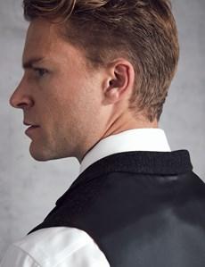 Men's Grey Wool Waistcoat
