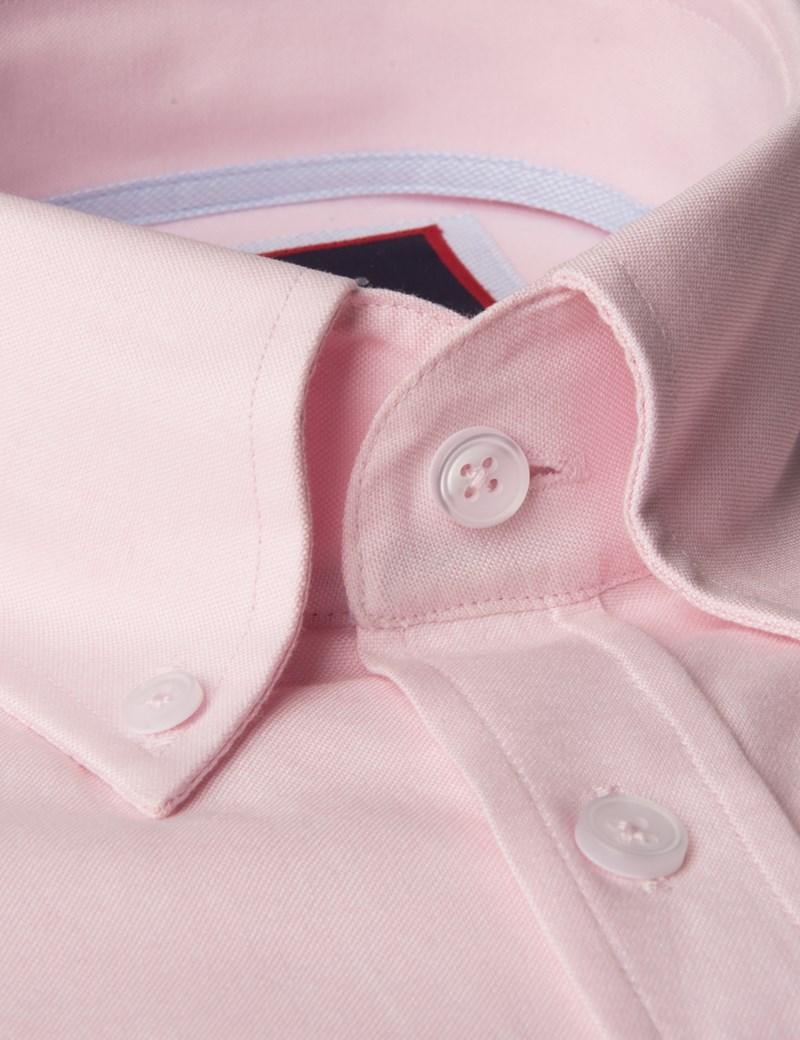 Oxford Hemd – Slim Fit – Button-Down – Baumwolle – PInk