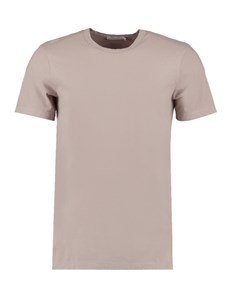 Men's Grey Garment Dye Crew Neck T-Shirt - 100% Supima Cotton