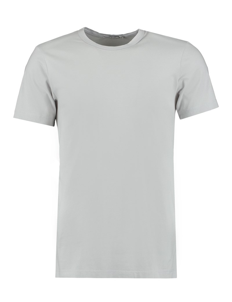 T-shirt – Rundhals – Hellgrau