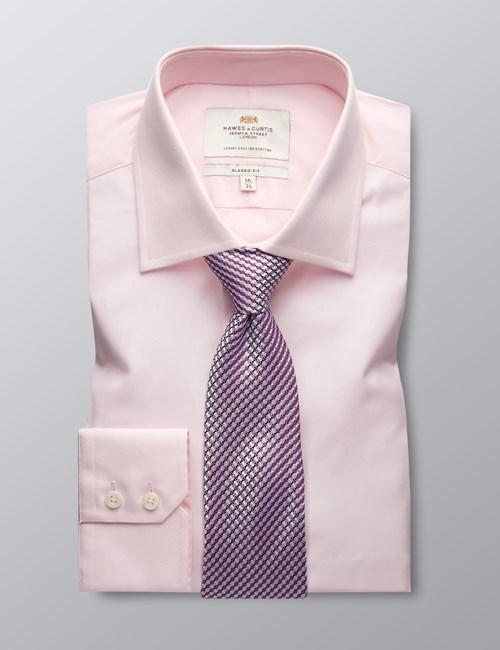 Business Hemd – Classic Fit – Kent Kragen – Rosa